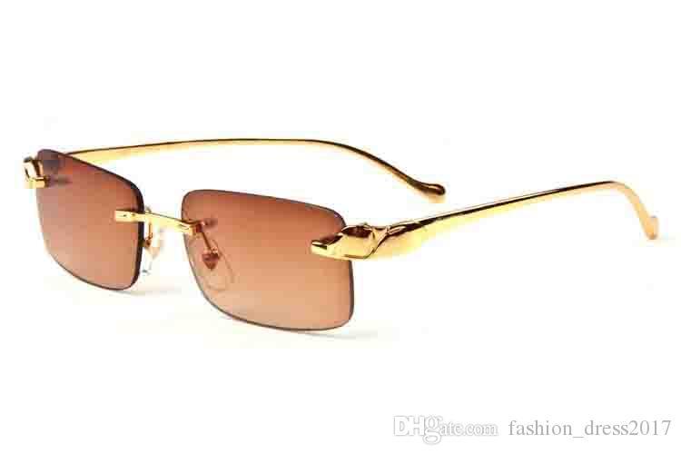 Обычные модные спортивные очки для мужчин солнцезащитные очки без оправы buffalo поляризованные солнцезащитные очки серебро золото металлические очки кронштейн многоцветный