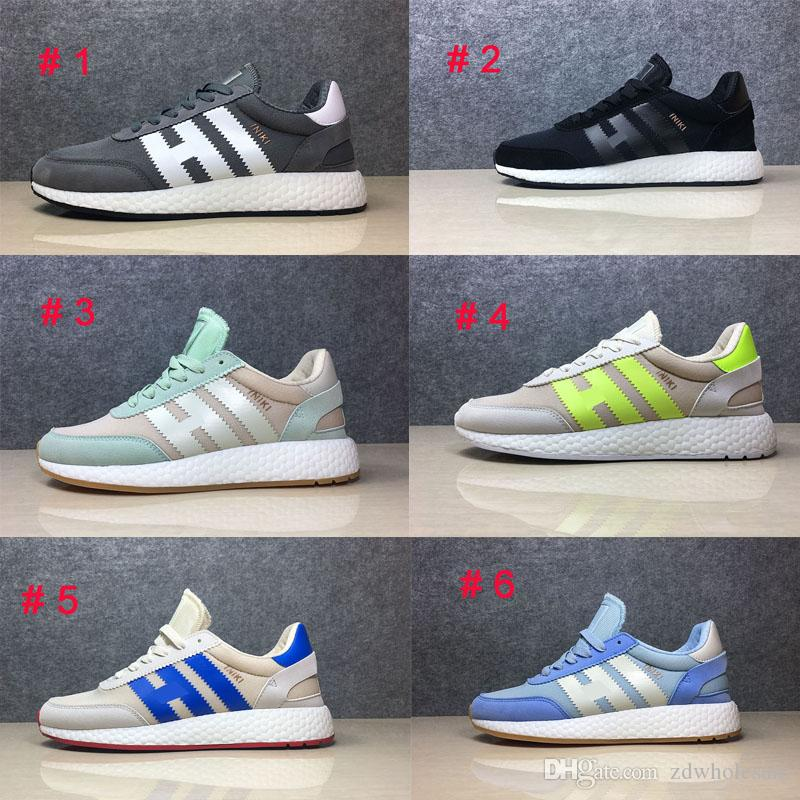 With Shoes Box Iniki Runner Boost Black Grey Red Blue Shoes Men Womens  PRIDE OF THE 70S Wholesale & Drop Shipping Iniki Boost Iniki Runner Iniki  Shoes ...