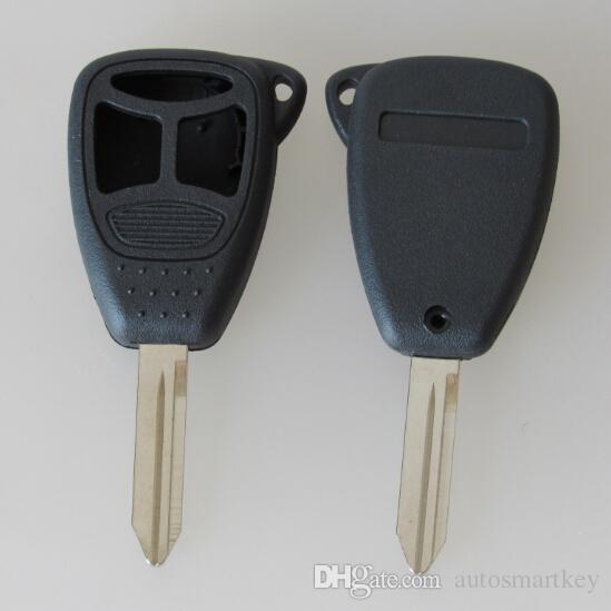 Новая замена смарт-ключ оболочки автомобиля для Chrylser 300 ключ пустой чехол с 2 + 1 большая кнопка