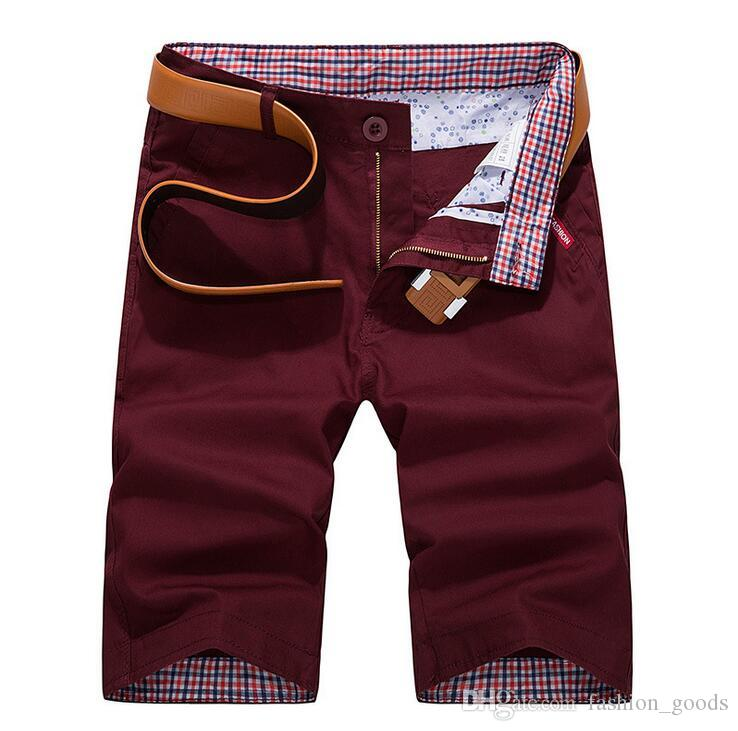 Free ship Summer Men's Shorts leisure thin section 5 points tide straight MS001 Mens Short