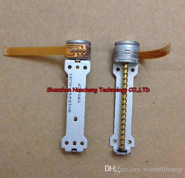 새로운 일본 15MM 스테핑 모터 52mm 스크류로드 2 상 4 선 15 * 12mm 스테퍼 모터 ~