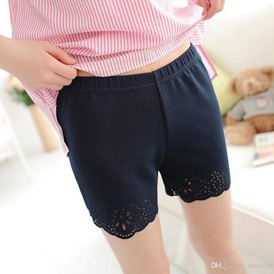 Caldo ! Pantaloncini corti da bambina di moda estiva da 20 pezzi, leggings corti di fiori