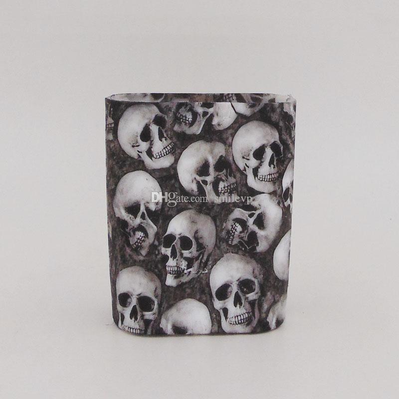 For Smok AL85 skull Silicone Case Colorful Rubber Protective SMOK AL85W skull head Cover Skin For SmokTech SMOK Alien Mini 85W Box Mod
