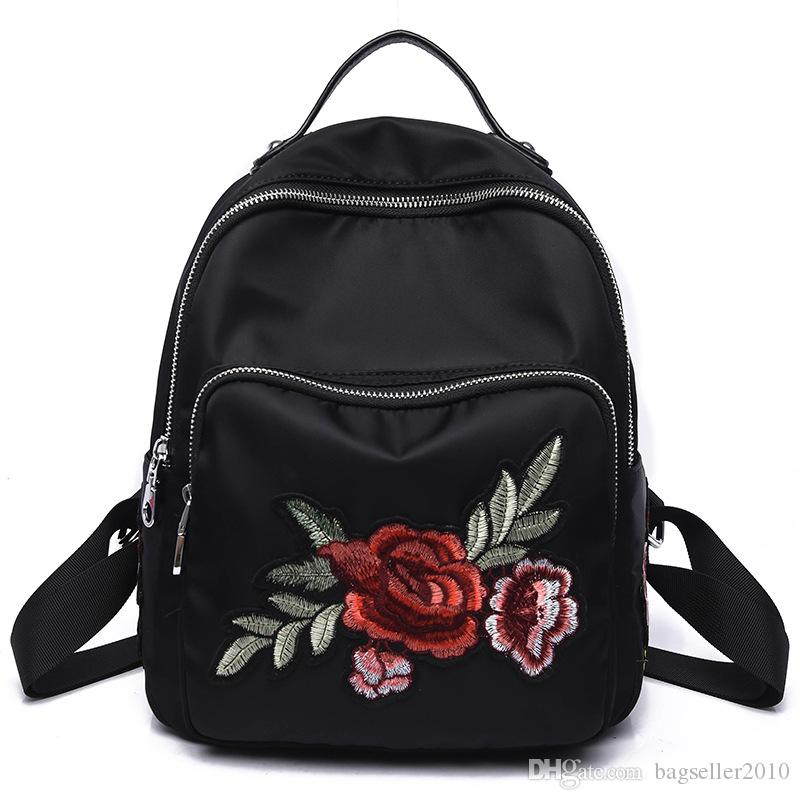 Newest Backpack Women Teen Girls Backpacks Dragonfly ...