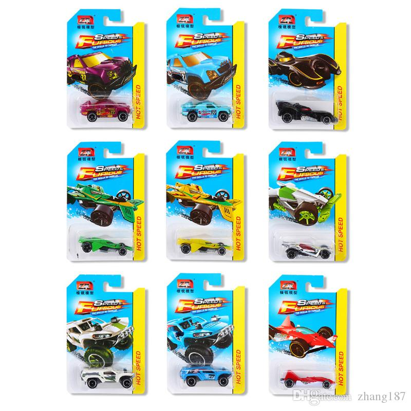 1 64 Hot Wheels Cars Toy Fast And Furious Diecast Pocket Car Models For Boy Alloy Car Toys Sports Car Box Gifts Collection