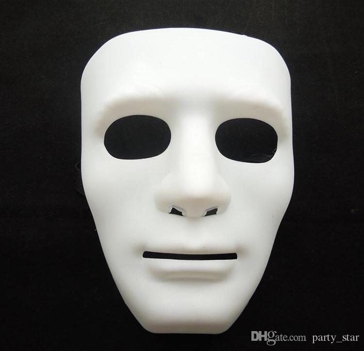 ハロウィーンパーティーフルフェイスマスカーレードマスク男性BboyヒップホップPVCマスクジャボワオストリートダンスフェイスマスクレッドブラックホワイトブルーグリーン