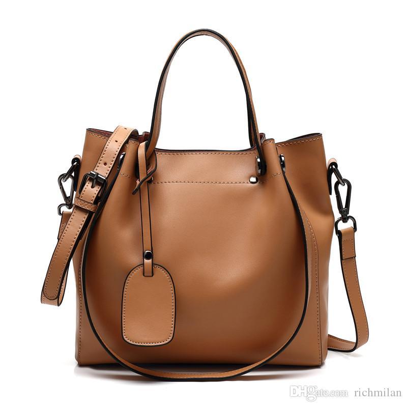 Bon Richmilan 2017 Luxury Lady Office Handbag Women Genuine Leather Handbag  Wholesale Yd 001 Crossbody Purse Travel Bags For Women From Richmilan, ...