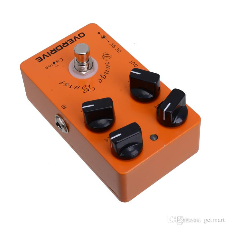 Caline CP-18 Orange Burst Overdrive Pre AMP Electric Guitar Effect Pedal