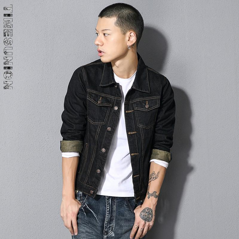 Wholesale Men Clothing Classic Style Denim Jacket Coat Men Casual