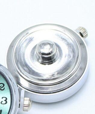 Красочные Круглые Стеклянные Часы 18 мм Имбирь Оснастки Кнопки для Noosa Подвески Fit Snap Браслет Женщины Браслеты Модные Компоненты Ювелирных Изделий Горячей Продажи