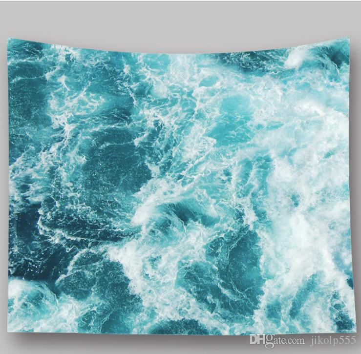 2.29m*1.5m natural scenery starry sky photo tapestry dining room decorative painting home art wall hanging beach towel