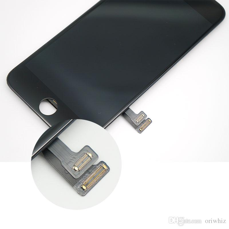 Maior desconto para iphone 7 7g screen display lcd toque digitador assembléia completa substituição com kit de ferramentas de presente livre epacket