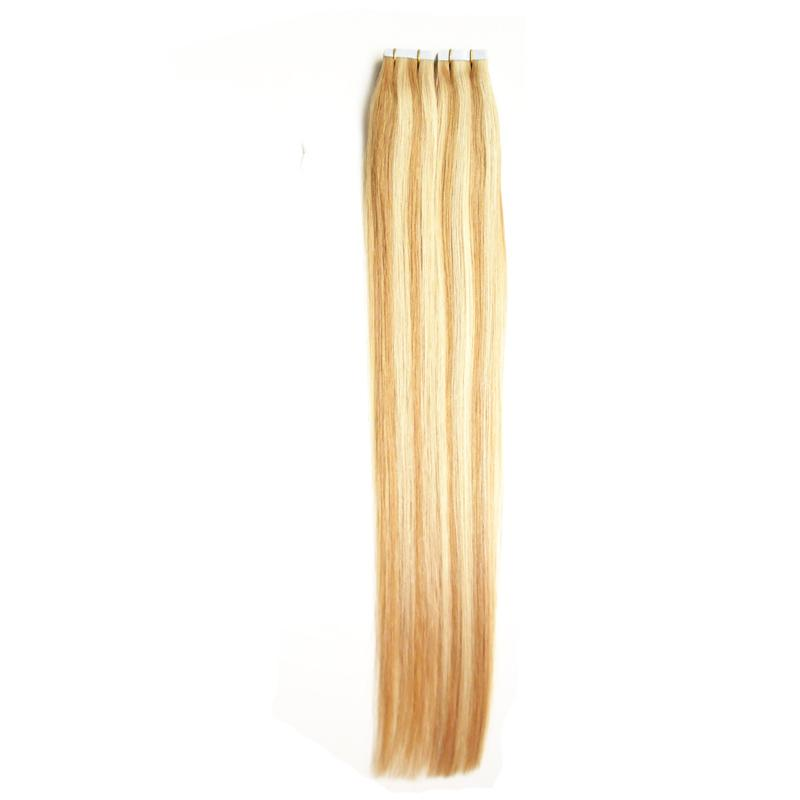 Wholesale 8a 100 Real Hair 27613 Double Sided Tape Hair Extensions