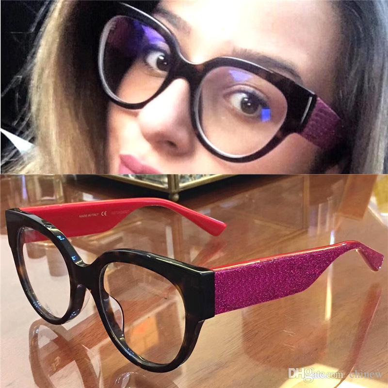 22307778b5c 2019 Black Big Frame Glasses Women Big Woman Brand Glasses Spectacle Frame  Eyeglasses Women Computer Optical Retro Round Reading Glasses From Chinew