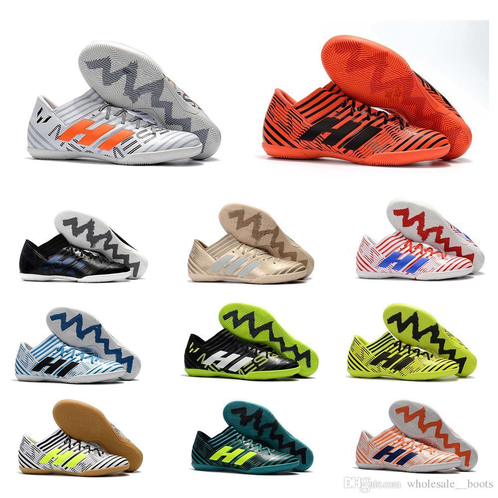 c068e266e0de 2019 Hots Sale 2018 Nemeziz Messi Tango 17.3 IC Soccer Shoes Mens Football  Shoes Indoor Soccer Boots Soccer Cleats From Wholesale  boots