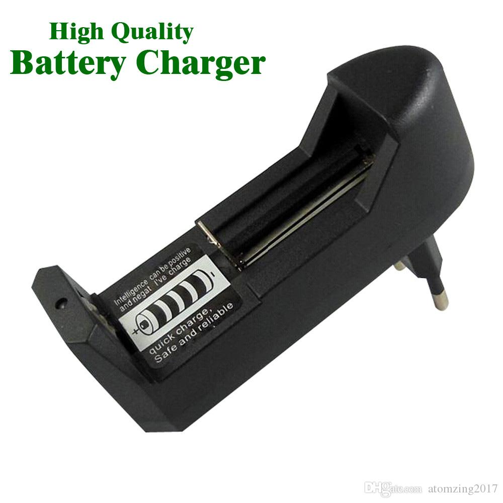 Hot Selling Universal 18650 Battery Charger For 3 7V 18650 16340 14500  Li-ion Rechargeable Battery High Quality EU US Plug Charge Adapter
