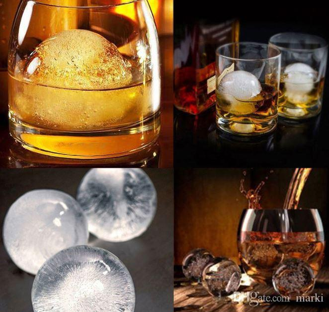 Ice Cube Ball chocolate candy ice cream Tray Brick Round Maker Mold Sphere Mould Party Bar wn068A