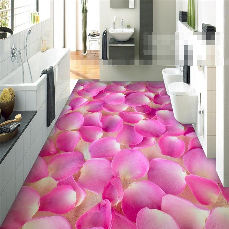 wholesale modern sticker 3d floor painting bathroom mural romantic rh dhgate com