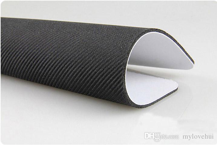 Прямоугольный нескользящей натуральный каучук коврик для мыши si монохромный коврик для Мыши компьютерные аксессуары офис коврик для мыши подарок