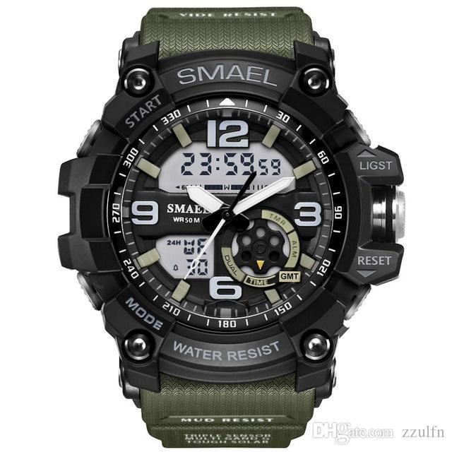 4e7ae01dd Nova marca smael relógio homens wateproof s choque relógio do esporte led  relógio digital dos homens relógio de pulso masculino relógio militar  relógio do ...