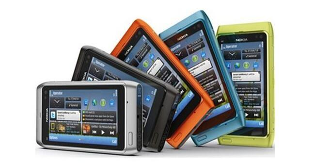 Yenilenmiş Orijinal Nokia N8 Tek Çekirdekli 16 GB 3.5 inç 12.1MP 3G WCDMA Kilidi Cep Telefonu
