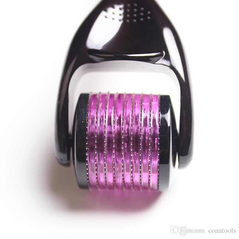 DRS 540 Micro Derma Roller Rejuvenescimento Da Pele Dermaroller Beleza Da Pele de Aço Inoxidável 360 Graus de Rotação da cabeça