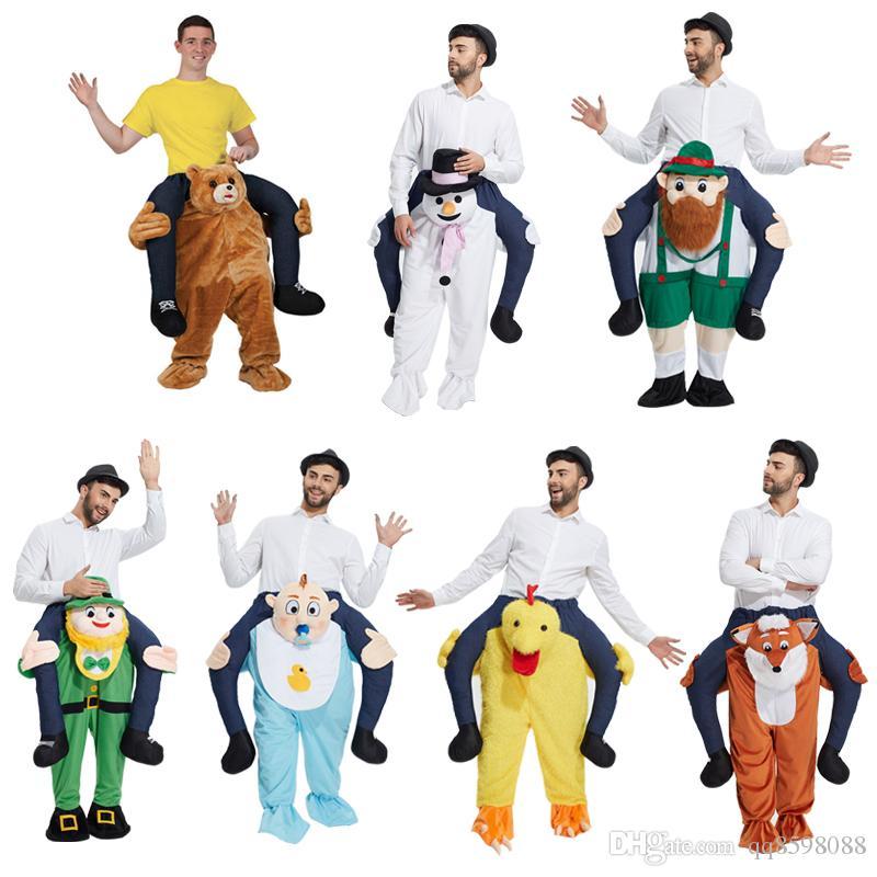 3813c9eb3ad Acheter The Nain Stuffed Ride On Me Stag Oktoberfest Costume De Mascotte  Porter Déguisement De Piggy Back Funny Wacky Pantalon De  41.63 Du  Qq8598088 ...