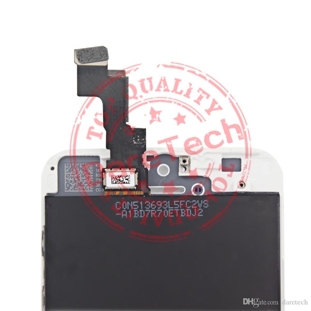 Display LCD Digitizer completo Touch Screen iPhone 5S parti di ricambio di ricambio bianco spedizione gratuita