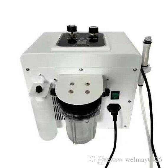 Água aqua peeling diamante microdermoabrasão clareamento da pele cristal microdermoabrasão preço da máquina