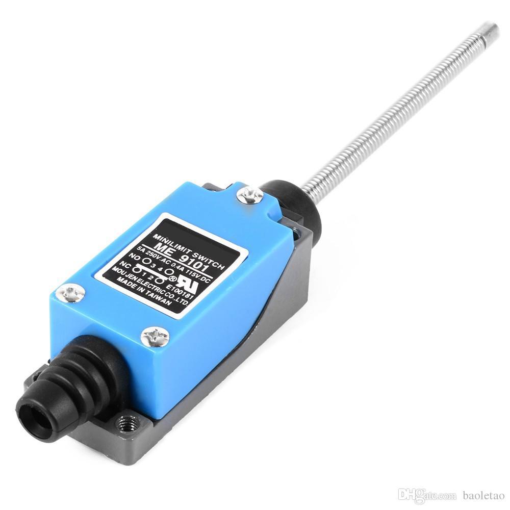 ME-9101 미니 DPST NC-NO 모 ary 리트 타입 리미트 스위치 AC250V / 5A DC110V / 0.4A HT266