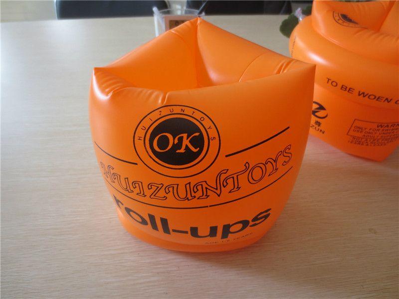 Anneau de bras de bande de natation flottant manches gonflables pour la protection de la sécurité des enfants