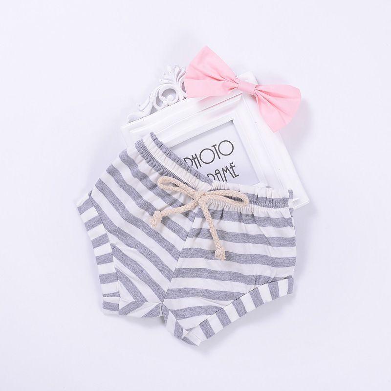 Fashion BoysGirls Striped Solid Pattern Pantaloncini in PP Baby Boys Girls Pantaloni Mini Shorts Pantaloncini il pane Baby Summer Clothing