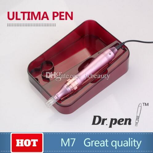 con 52 cartuchos de agujas nueva venta caliente Dr.pen Electric vibrante derma pluma con médico CE microneedle dermapen