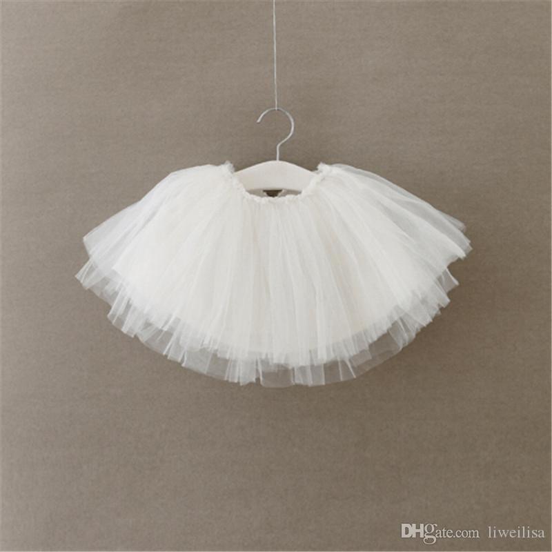 Baby Girl Jupe pettiskirts net Veil Enfants Mignon Princesse Vêtements cadeau d'anniversaire enfant robe de bal Party Kawaii TUTU Jupes