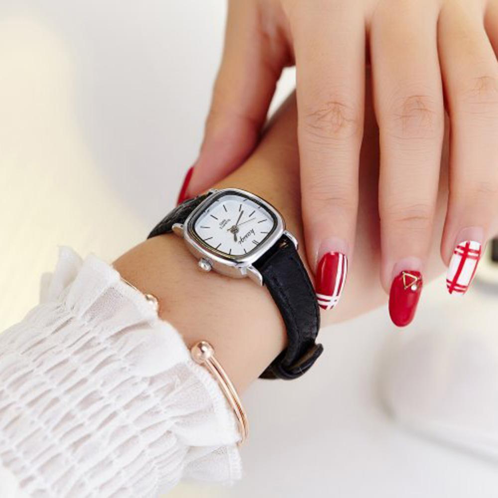 e1d144134a42c Wholesale New Female Leather Watches Women Fashion Bracelet Watch Geneva  Ladies Women Girl Silver Casual Quartz Wrist Watch Reloj Mujer Automatic  Watches ...