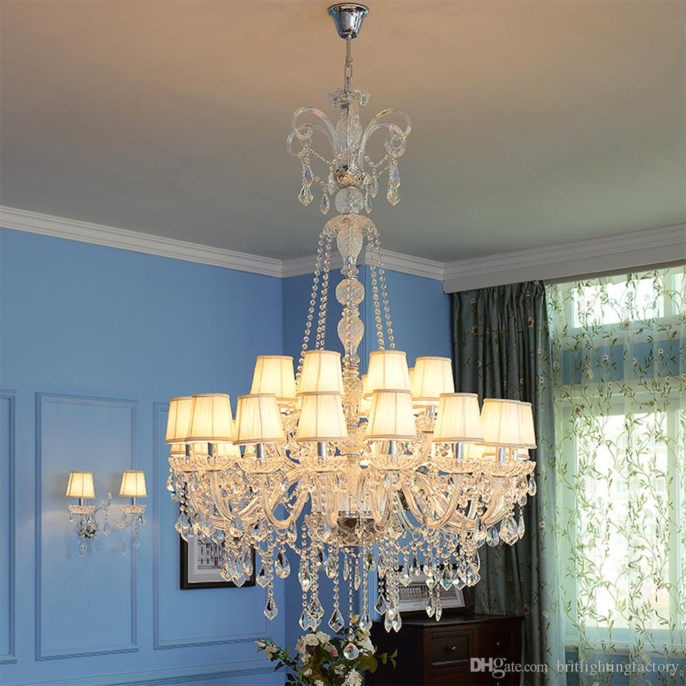 Bedside lamp chandelier modern chandelier crystal light long crystal bedside lamp chandelier modern chandelier crystal light long crystal chandeliers living room led chandelier lamp home lighting stairs lights hotel lobby arubaitofo Image collections