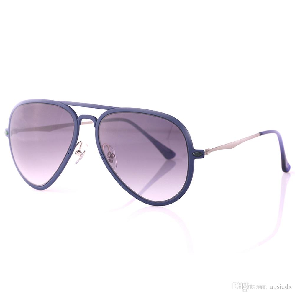 3680167c93c Highest Quality Popular Pilot Sunglasses Fashion 4211 Super Light Metal  Frame Eyeglasses Coating Reflective Lens Eyewear with Original Box  Sunglasses Online ...
