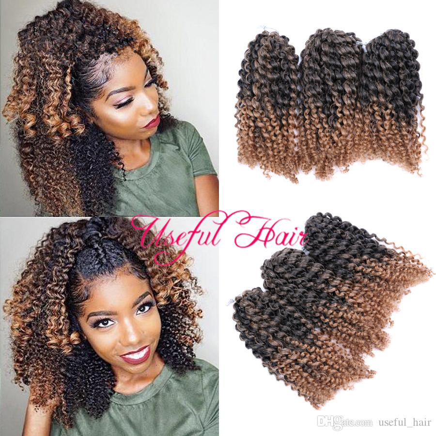 Jamaican Bob Hairstyle: Großhandel Menge MARLYBOB HAIR Jamaican BOUNCE OMBRE BUG