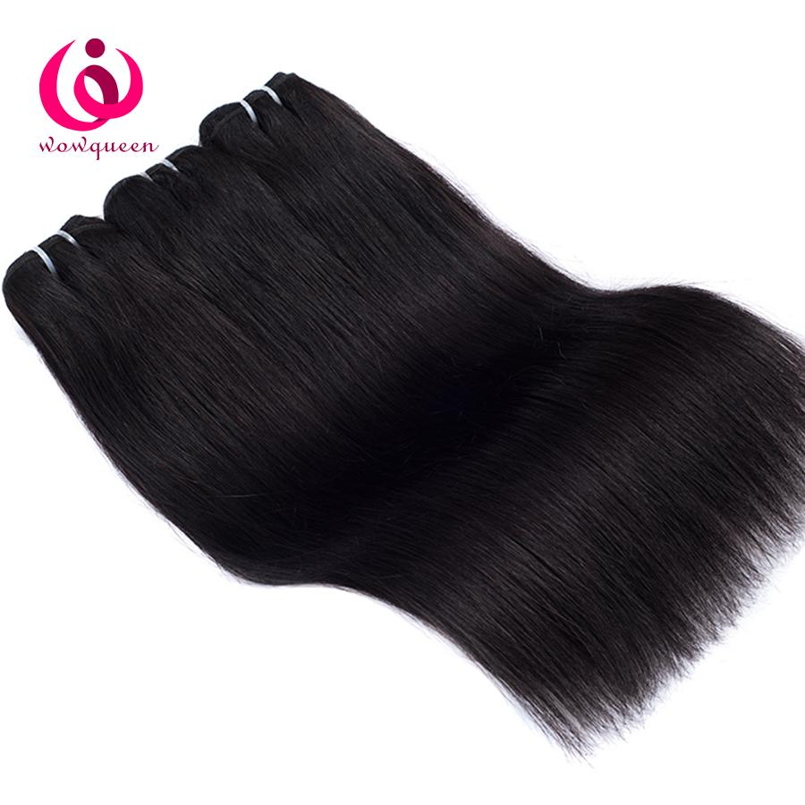 Brazilian Human Straight Hair 4Bundles Wow Queen Products Cheap Wholesale Price No Shedding No Tangle Brazilian Virgin Hair Weave Bundles