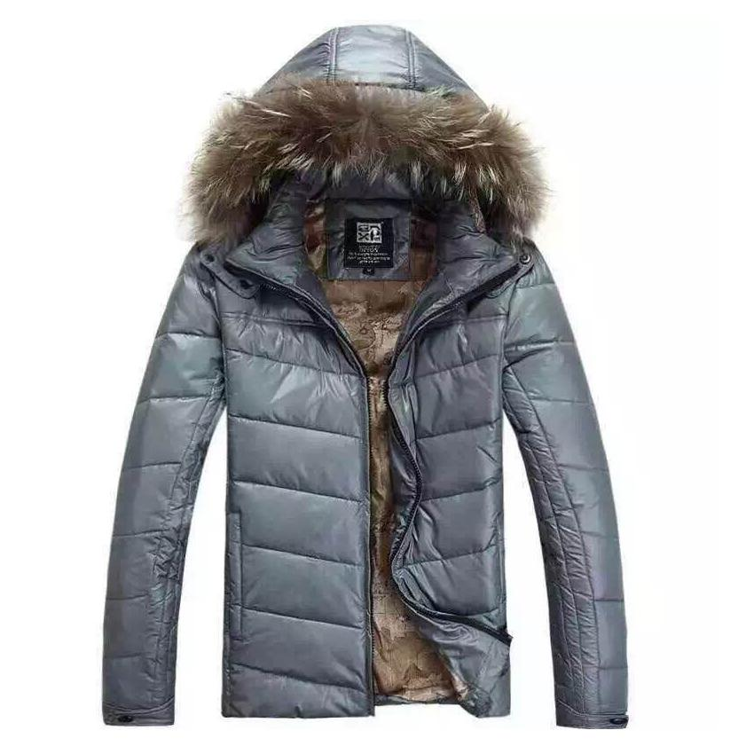 2018 Wholesale Men'S 2017 Winter Warm Down Jacket Slim Thin Parka ...
