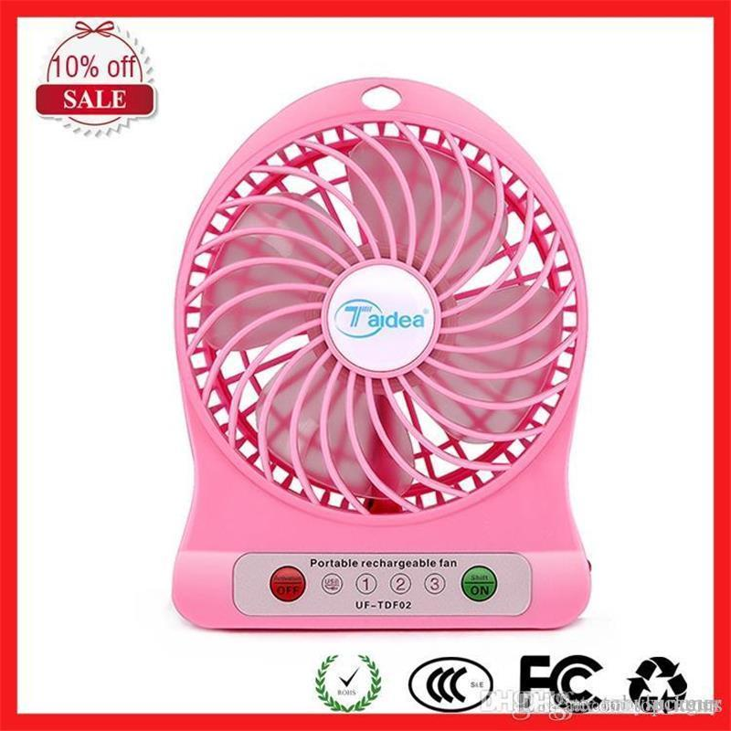Mini Usb Fan Creative Mute Computer Fan For Office Home Li-battery Desktop Portable Electric Small Fan Travelling Hand Fan Small Air Conditioning Appliances