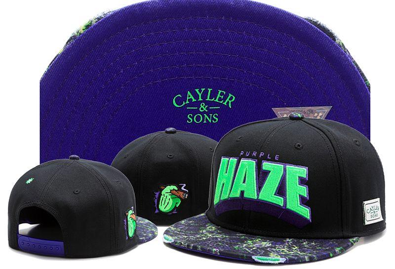 Cayler Sons Unisex Hip Hop Direct Selling Fans Support Sombreros Snapback Gorras de béisbol Gorra ajustada Snapback Cap Hat