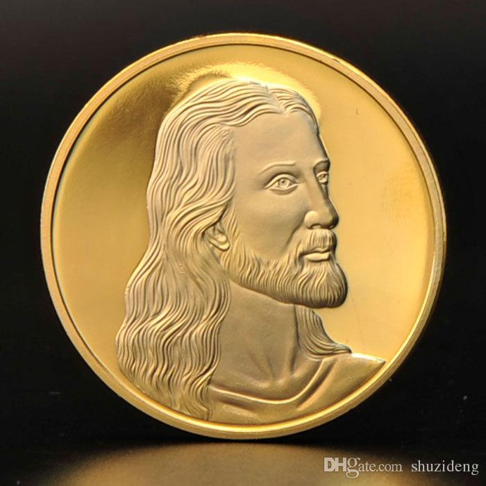 Jesus Christ Last Supper Son of God Christian 24K Gold Plated Prayer ...