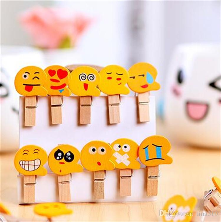 2018 emoji wooden clips smiling face postcard clip photo clip 2018 emoji wooden clips smiling face postcard clip photo clip family decorative articles clothespin gift for children ib420 from tina310 014 dhgate negle Images