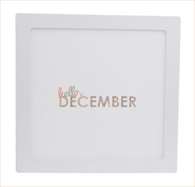 9W 15W 21W Round Square LED Panel Lights Dimmable Surface Mounted LED Ceiling Down Light AC 85-265V