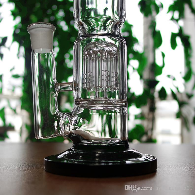 Bong olio di vetro spesso rigs 12