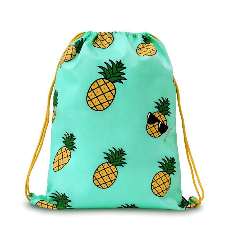9a7a3bbe50 Wholesale 2015 U PICK New Design Drawstring Backpack 100% Polyester  Waterproof Pattern Drawstring Bag For Daily Trip   Swiming Backpacks For  Kids Backpack ...