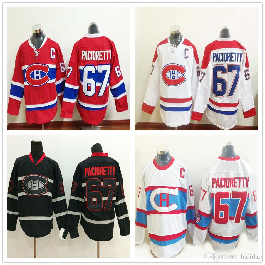 brand new c7684 511a2 montreal canadiens 67 max pacioretty black ice jersey