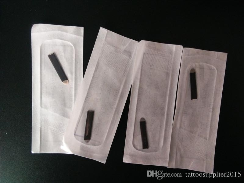 / U-forme 18pin Noir Couleurs Aiguilles Lame De Tatouage Sourcils Broderie Permanent Maquillage Microblading Sourcil Fournitures Aiguilles Aiguilles