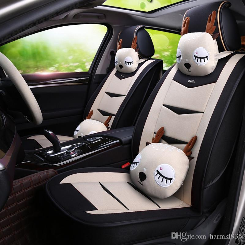 Car New Cartoon Seat Cover Seat Four Seasons Universal All Inclusive